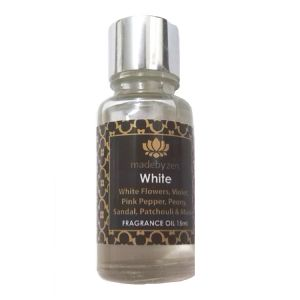 WHITE - Signature Scented Fragrance Oil Made By Zen 15ml
